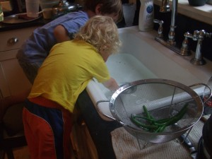 Freezing Green beans 3, 8-5-10