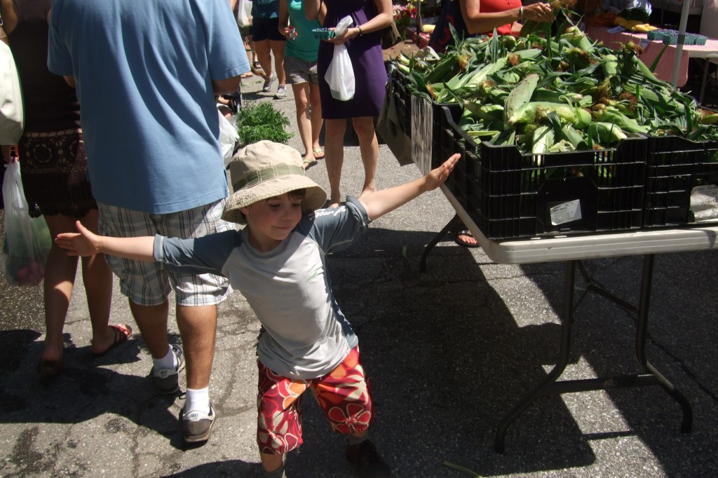 farmers market aug. 2011