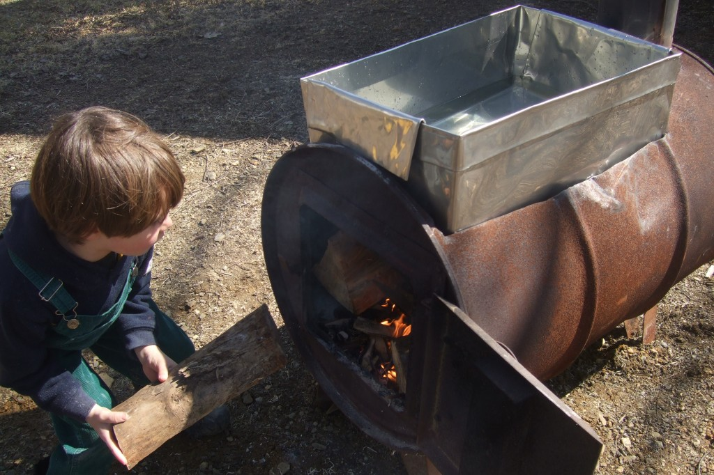 maple sugaring 2012